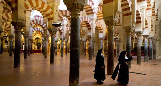 Interior de la Mezquita-Catedral de Córdoba, en una imagen de archivo.