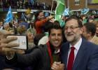 """Rajoy: """"Votar a IU, Podemos, UPyD y Ciudadanos es apuntalar al PSOE"""""""