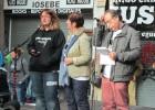 Petición de justicia en el callejón