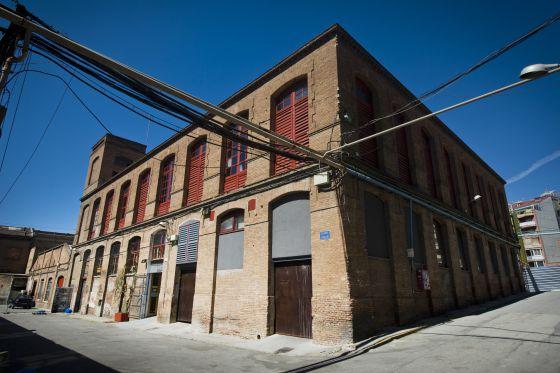 El edificio del futuro Coopolis, en Can Batlló.