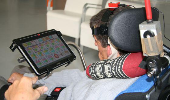 Biomecánica crea un comunicador para niños con parálisis cerebral