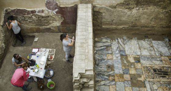 Destellos de Pompeya en Écija