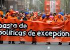 Miles de personas apoyan a los siete condenados de Segi en Vitoria