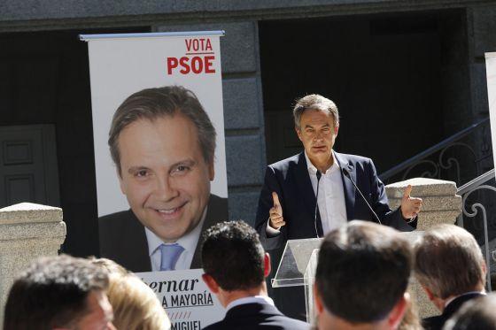 Zapatero reivindica la herencia socialista y arremete contra Podemos