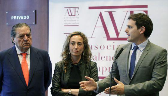 """Rivera ve """"complicado"""" pactar con Barberá en Valencia por su """"actitud"""""""