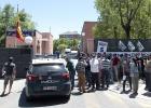 La policía se aleja de Madrid