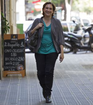 Ada Colau, en Barcelona.