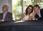Puig, Oltra y Montiel sellan el pacto programático sin fijar presidente
