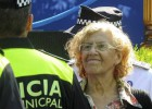 Carmena apoya que no haya antidisturbios en los desahucios