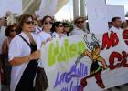 La plantilla de Valeo lleva la protesta contra el traslado a Seat