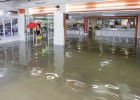 Las lluvias dejan casi 200 litros en municipios de La Safor y La Ribera