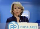 """Aguirre pide informes """"cualificados"""" para mantener el edificio España"""