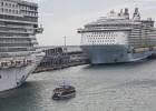 Barcelona logra el récord anual de llegada de cruceristas