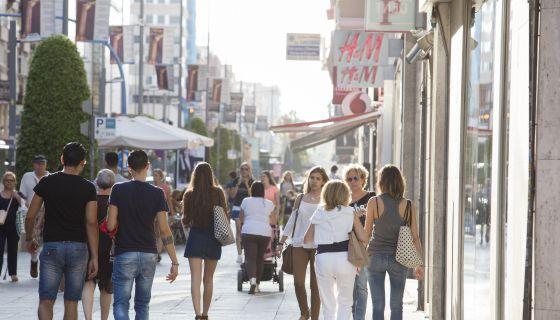Una de las calles incluidas en la Zona de Gran Afluencia Turística de Alicante.