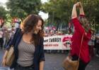 Dos sindicalistas admiten haber hecho una hoguera frente a la Bolsa