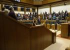 El Parlamento pide más recursos contra la violencia machista