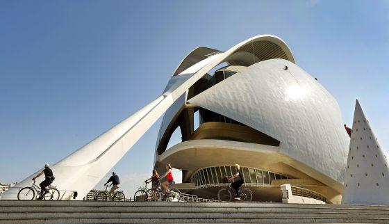 Santiago Calatrava: Palau de Les Arts de Valencia