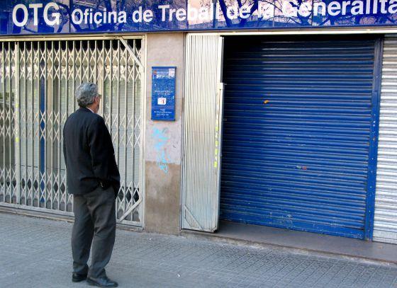 Epa catalu a registra la cifra m s baja de paro de los for Oficina de registro barcelona