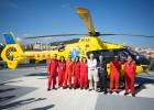1.000 traslados en 20 años del helicóptero pediátrico del Sant Pau