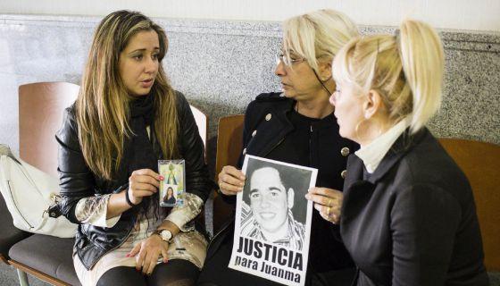 Caso Càlig: Familiares de Yalennis Valero y Juan Manuel Mata