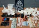 Desarticulada una red que vendía cocaína y heroína en Móstoles