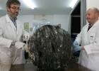 La basura espacial de Murcia pesa como una bombona vacía