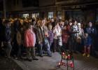 Tensión en Sant Adrià tras el homicidio de un vecino