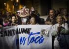 Ocupado el hospital Sant Jaume de Mataró por el traslado de pacientes