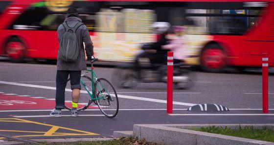 Los nuevos carriles bici de Barcelona serán en calzada y segregados