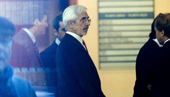 El presidente de Escal UGS, Recaredo del Potro, en los juzgados de Vinaròs.