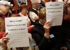 Alcorcón protesta contra el cobro de la tasa de vados