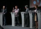 Los candidatos polemizan sobre la independencia en el primer debate