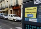 Los coches con tres ocupantes entrarán con alta polución