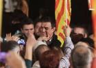 Sánchez levanta la autoestima del PSC en el mitin final de campaña