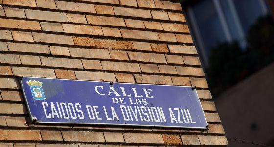 Calle de los Caídos de la de la División Azul