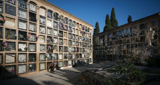 Cementerio de Sant Andreu, en Barcelona.