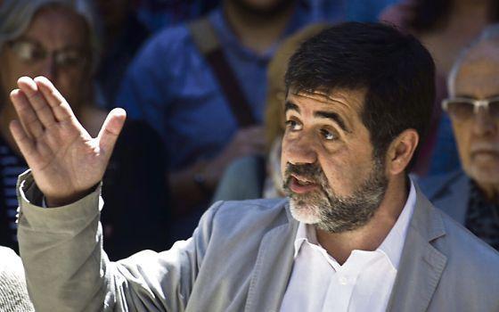 Jordi Sánchez, presidente de la ANC