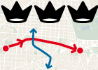 El recorrido de la cabalgata de los Reyes Magos en Madrid