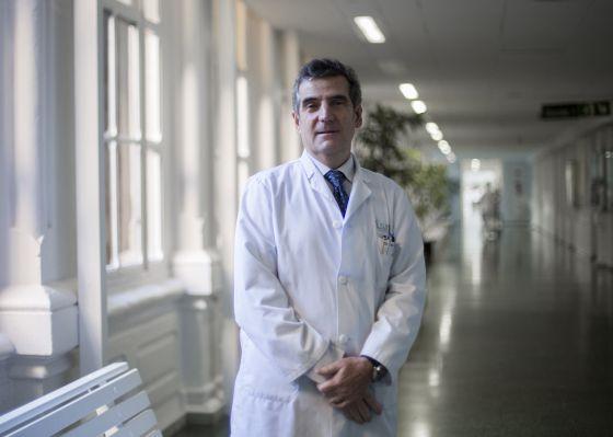 El doctor Josep Maria Campistol, nuevo director general del hospital Clínic, en las instalaciones del centro.