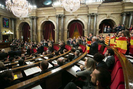 El Pleno del Parlament, en la sesión del 9 de noviembre