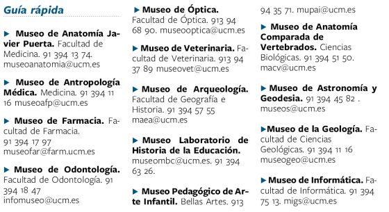 La Complutense abre sus museos secretos