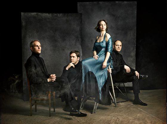 El Cuarteto Casals, en una foto promocional.