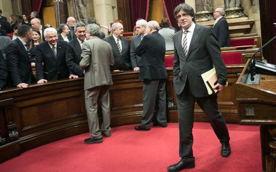Investidura en Cataluña de Carles Puigdemont
