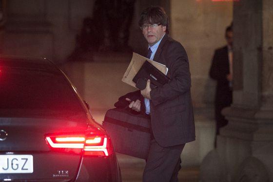 Carles Puigdemont, el pasado 13 de diciembre.