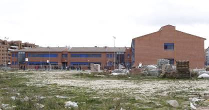 Obras de ampliación en el instituto de San Chinarro.