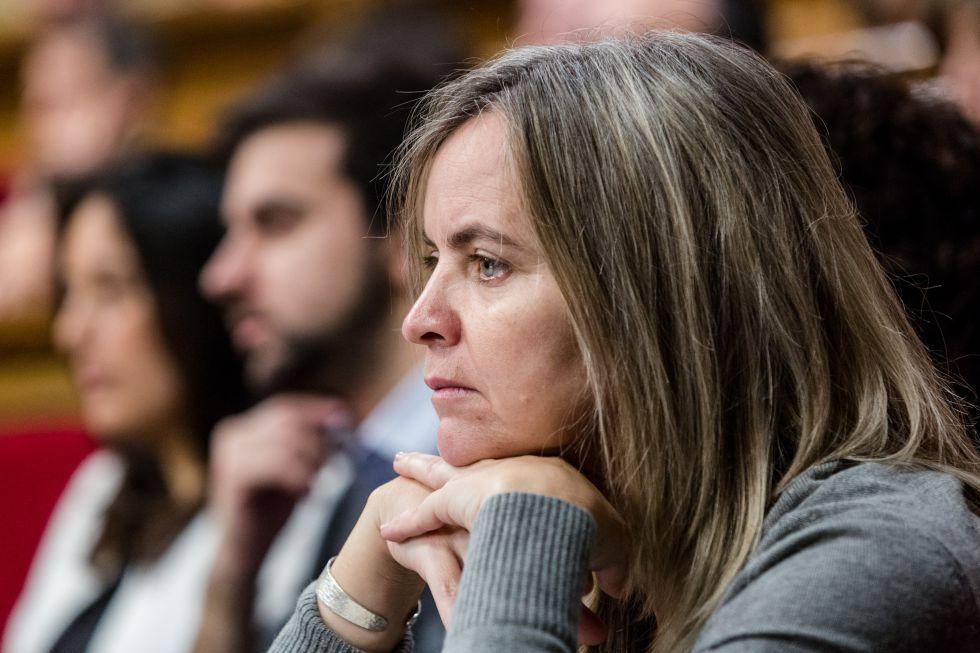 La diputada del PSC, Marta Moreta
