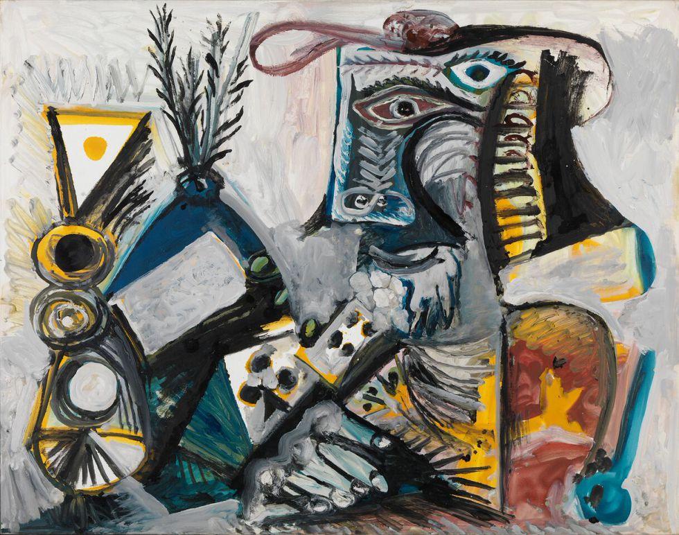 'El jugador de cartas', obra de Picasso