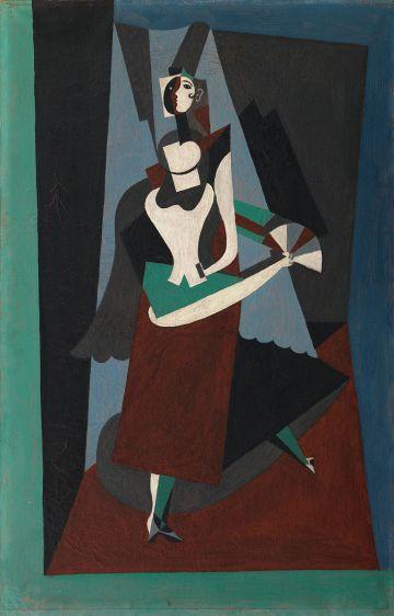 'Blanquita Suarez', pintada por Picasso en 1917.