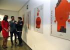 Las cuatro caras del diseñador Ibán Ramón para el cartel de Fallas 2016
