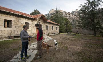 La casa de oficios de La Pedriza, un antiguo refugio de guardabosques.